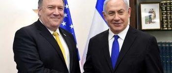 با کمک یکدیگر از کارها متخاصمانه کشور عزیزمان ایران جلوگیری کنیم! / نتانیاهو خطاب به پامپئو